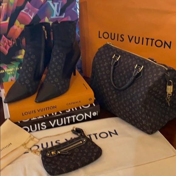 Louis Vuitton booties